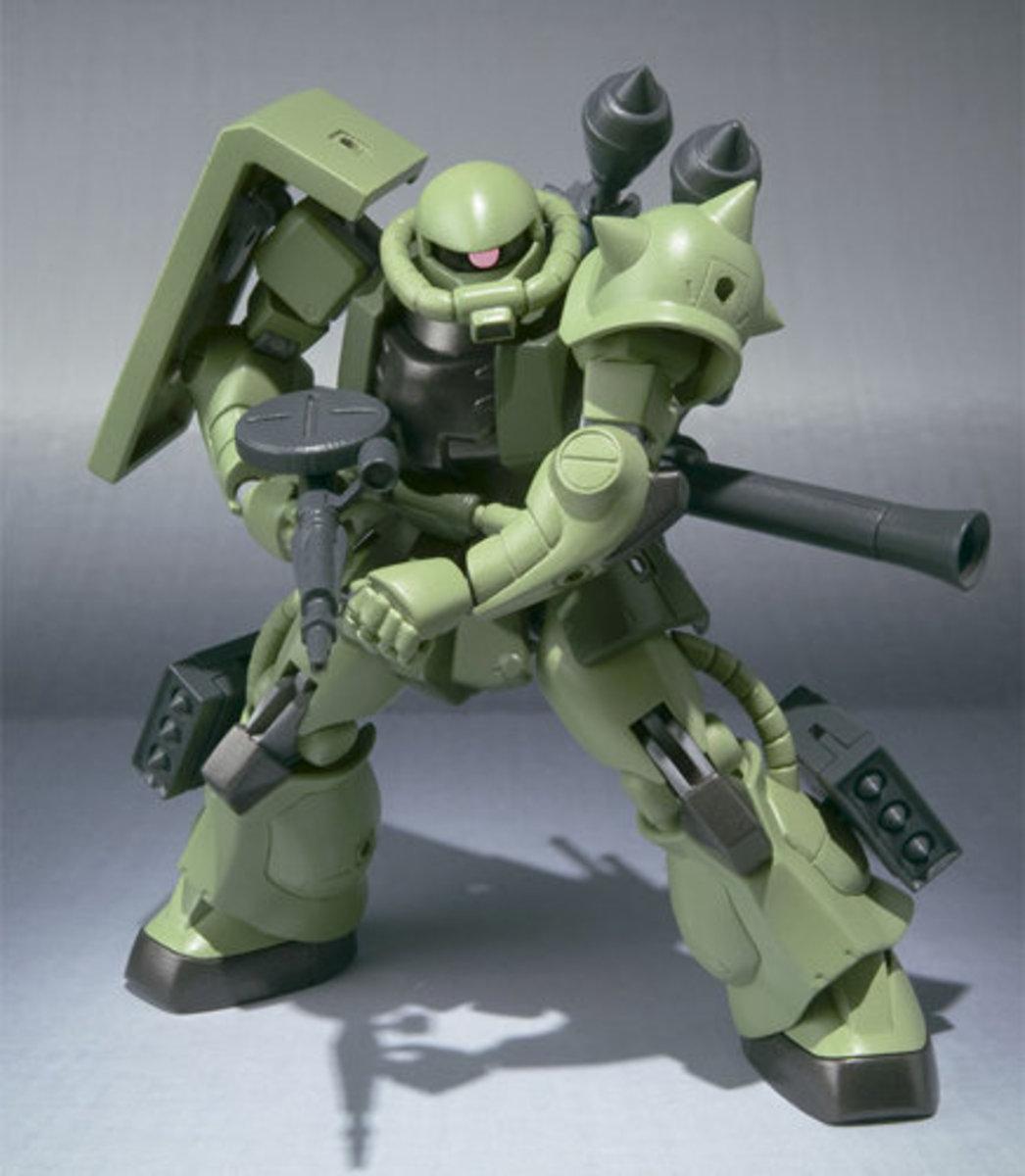 Robot 魂  No. 097 MS-06 系列機動戰士 綠渣古 II