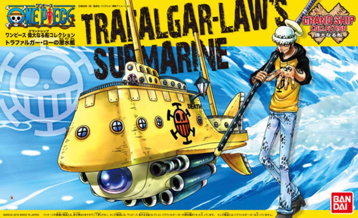 One Piece 海賊王 Grand Ship Collection 02  紅心海賊團 「死亡外科醫生」 羅的潛水艇!