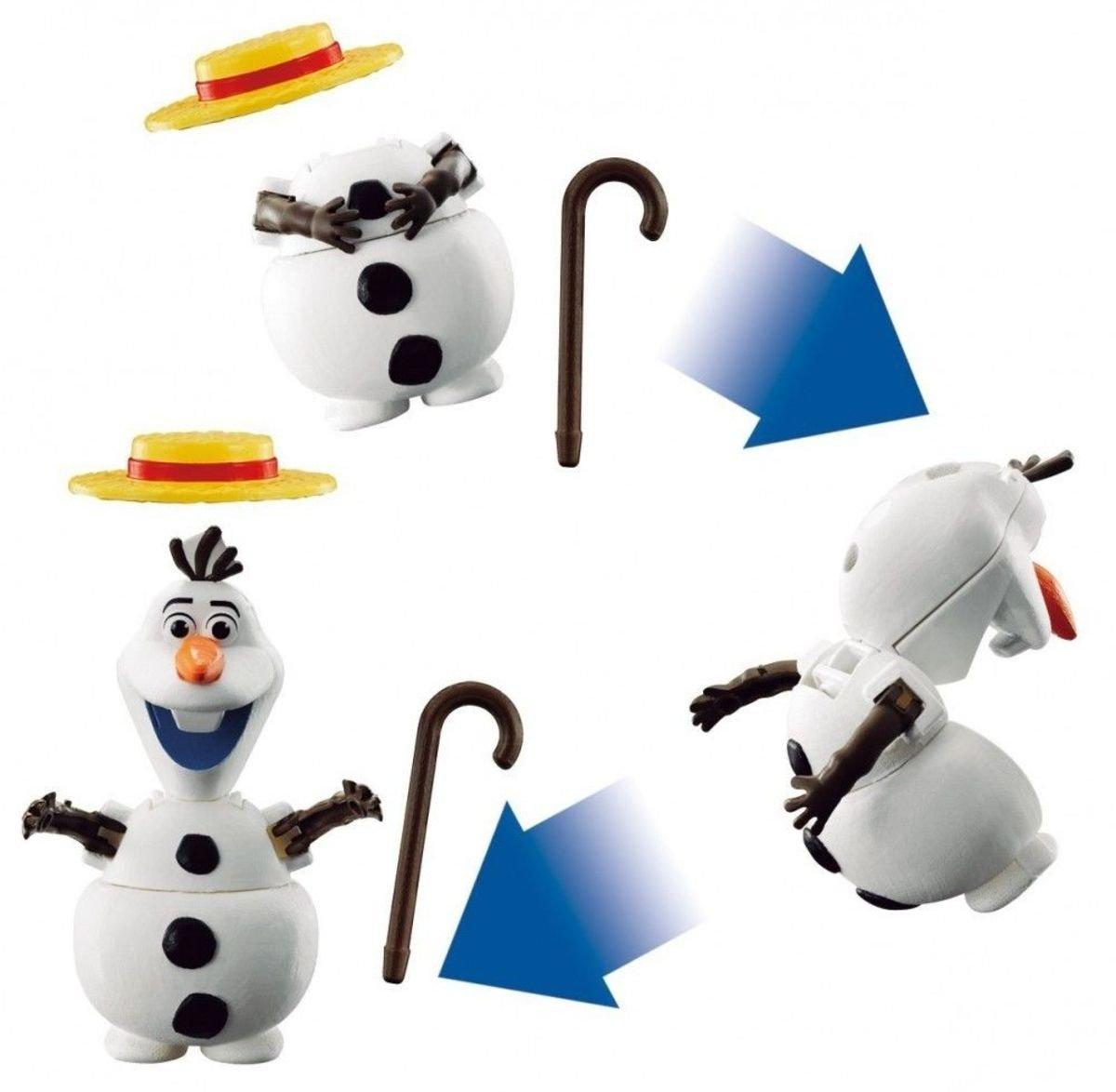 Frozen 魔雪奇緣 Olaf 雪寶 扭蛋