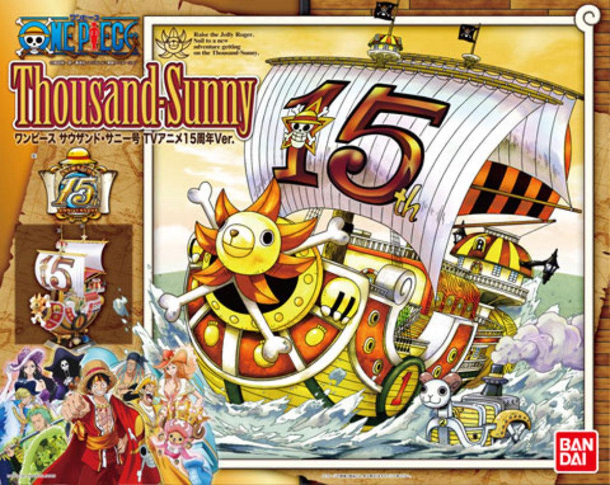 One Piece 海賊王 Grand Ship Collection 千陽號 (動畫15周年特別版