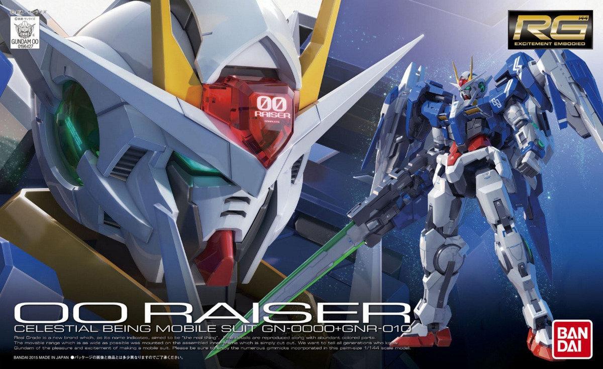 1/144 RG GN-0000+GNR-010 00 Raiser 高達  強化模組