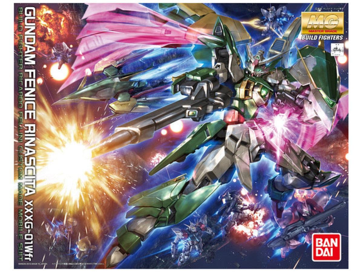 1/100 MG  Gundam 創戰者 重生鳳凰 高達