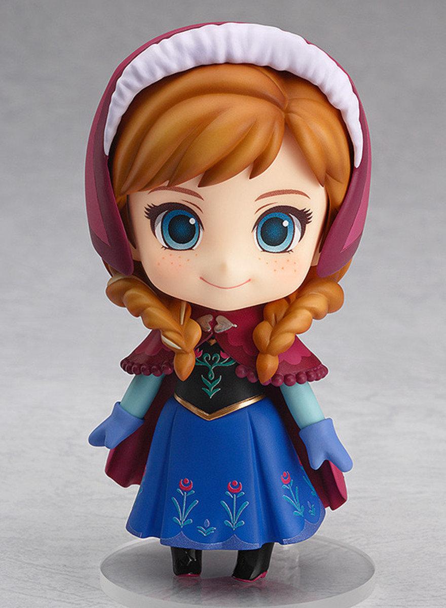 Nendoroid 系列 No.550 Frozen 魔雪奇緣 Anna