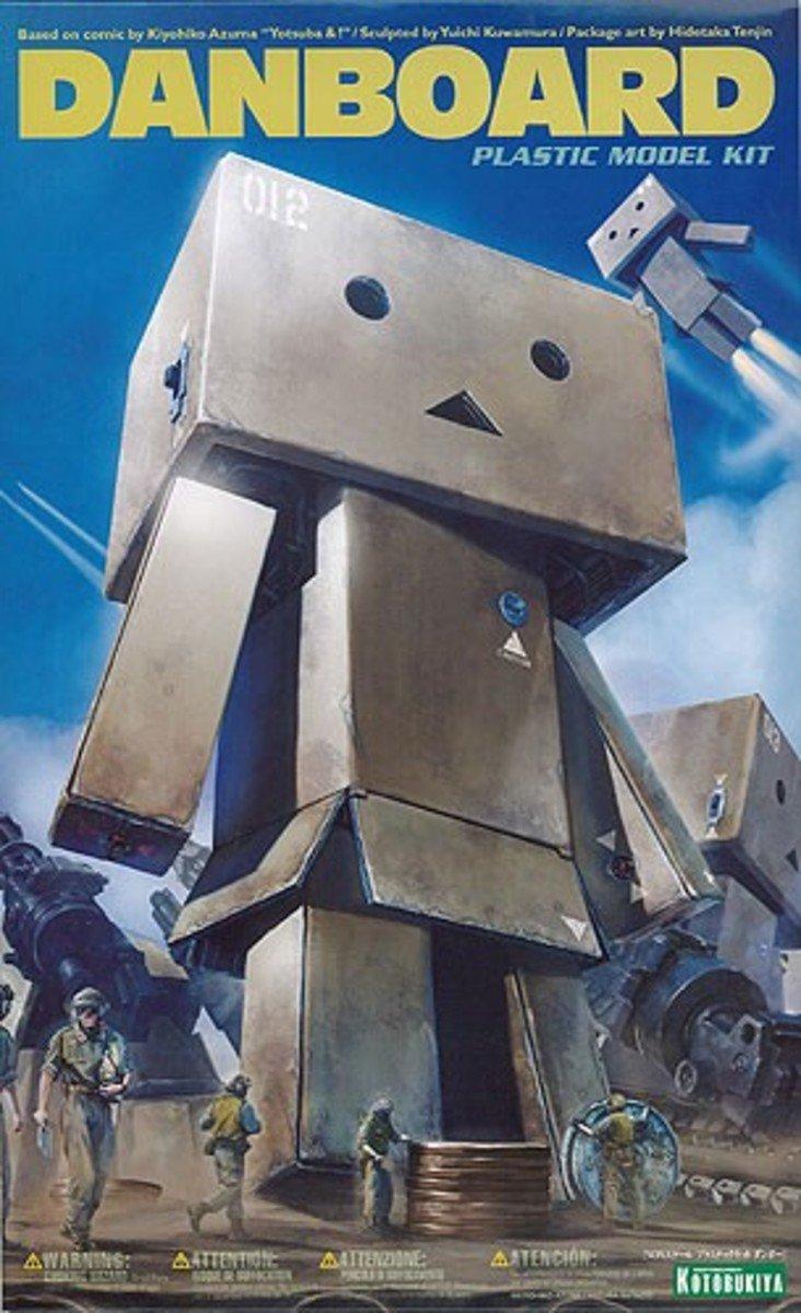 四葉妹妹 - 阿愣:紙箱人 機器人 Danboard 組裝模型