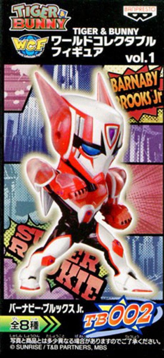 Tiger & Bunny World Collectible Figure 系列 第一彈-  Barnaby Brooks Jr.