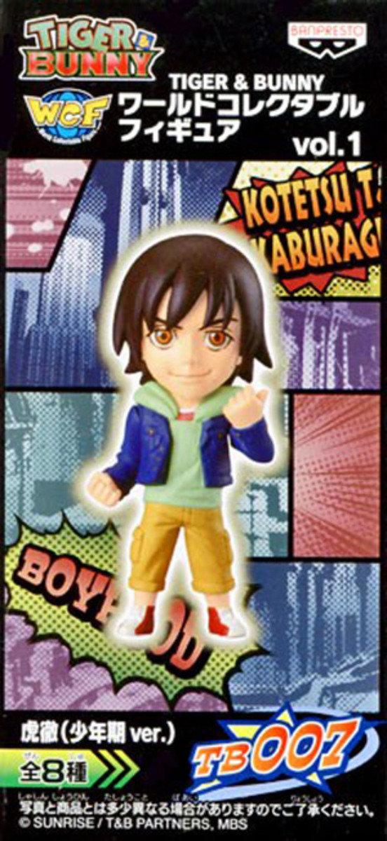 Tiger & Bunny World Collectible Figure 系列 第一彈 - Kotetsu T. Kabliragi (Young Ver.)