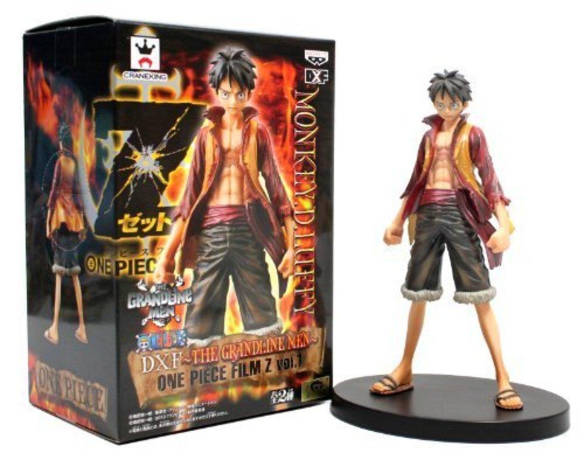One Piece 海海賊王 劇場版 Z DX景品 The Grandline Men Vol. 1 路飛