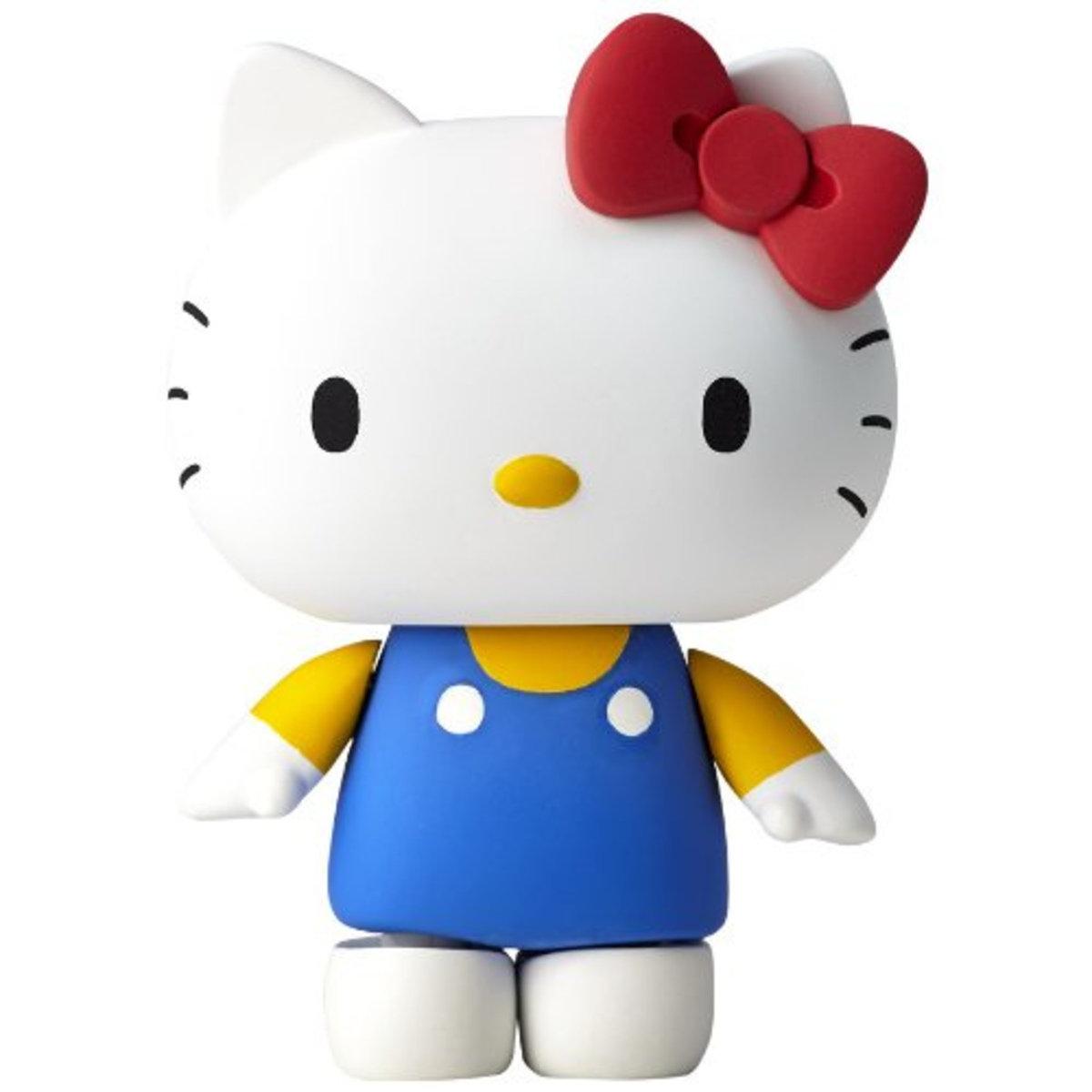 海洋堂 山口式 輪轉可動 Hello Kitty