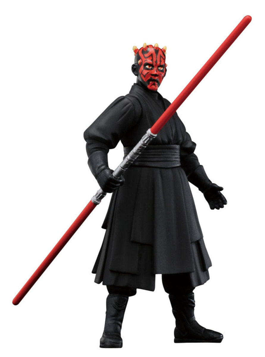 Star Wars 星球大戰 Metal Figure Collection #13 Darth Maul