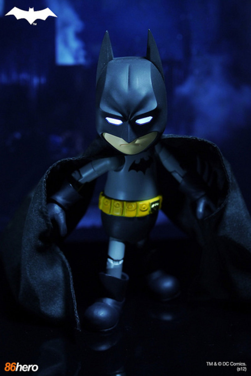 Hybrid Metal Figuration 列 HMF #004 Batman  蝙蝠俠