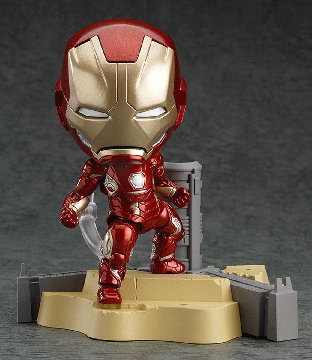 Nendoroid 系列 No.545  復仇者聯盟2: 奧創紀元 Q版 黏土人  Iron Man Mark 45