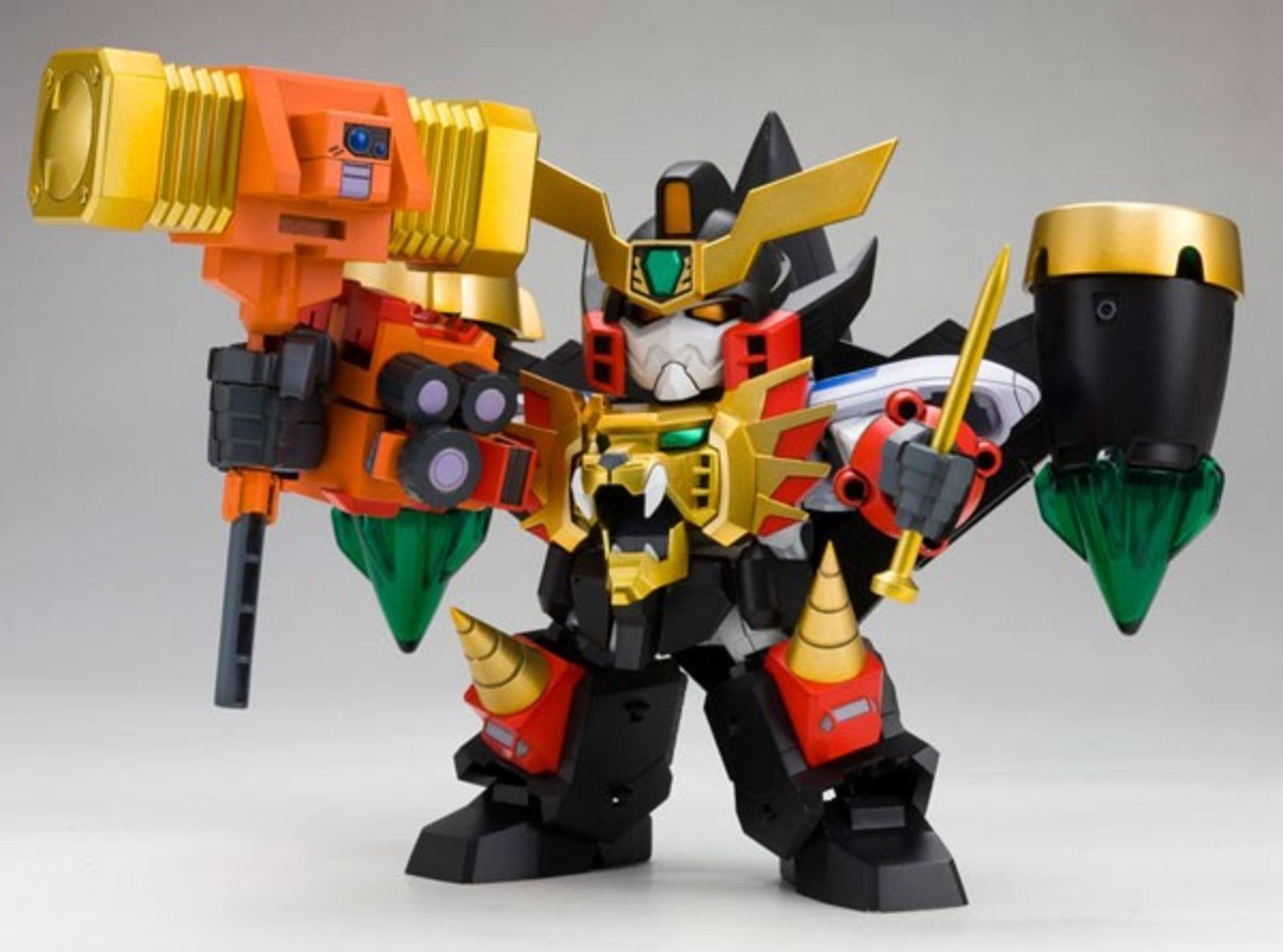 D-Style 系列 No.19 勇者王 Gaogaigar