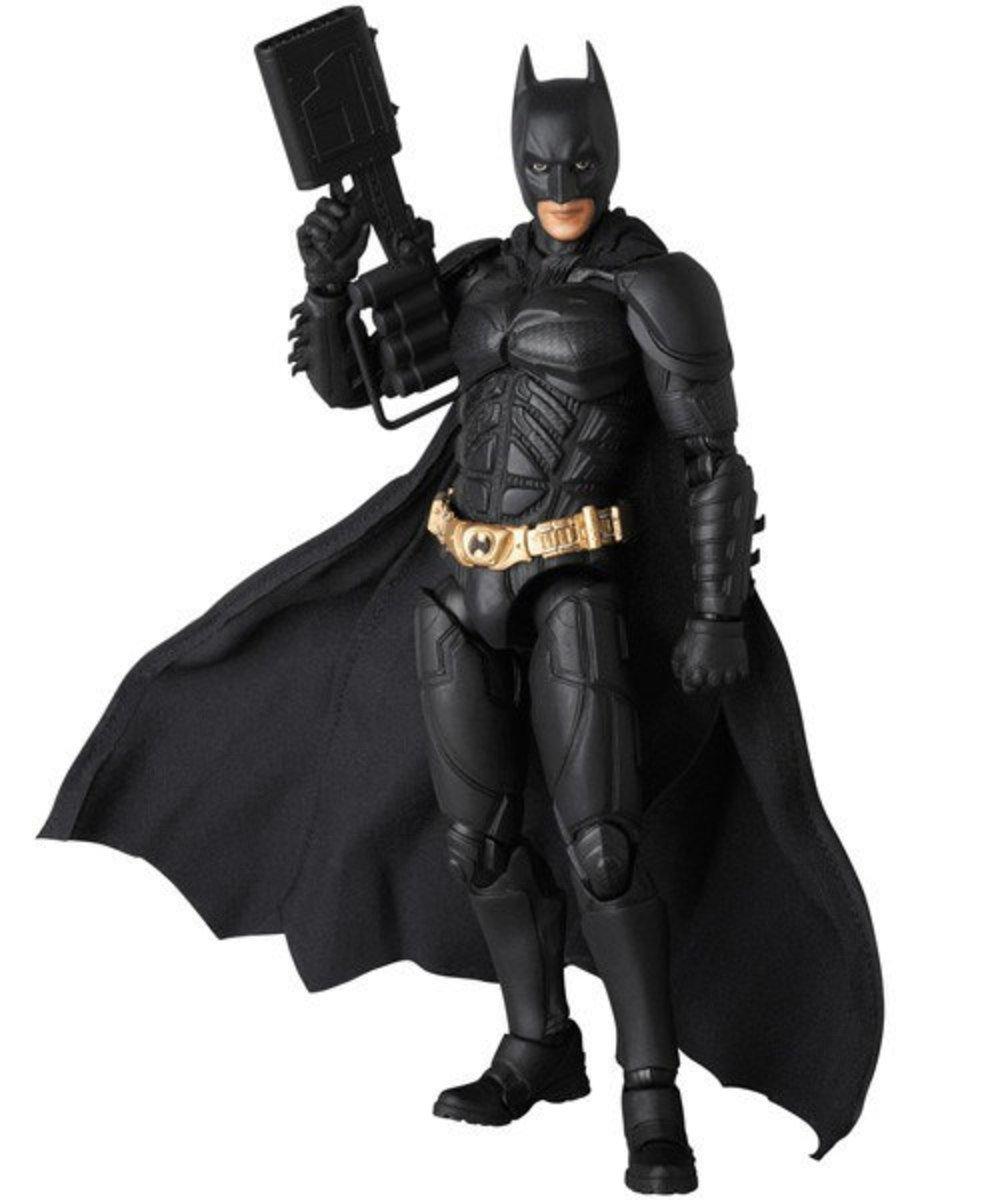 蝙蝠俠 夜神起義 Mafex 系列 007 蝙蝠侠 Ver.2.0