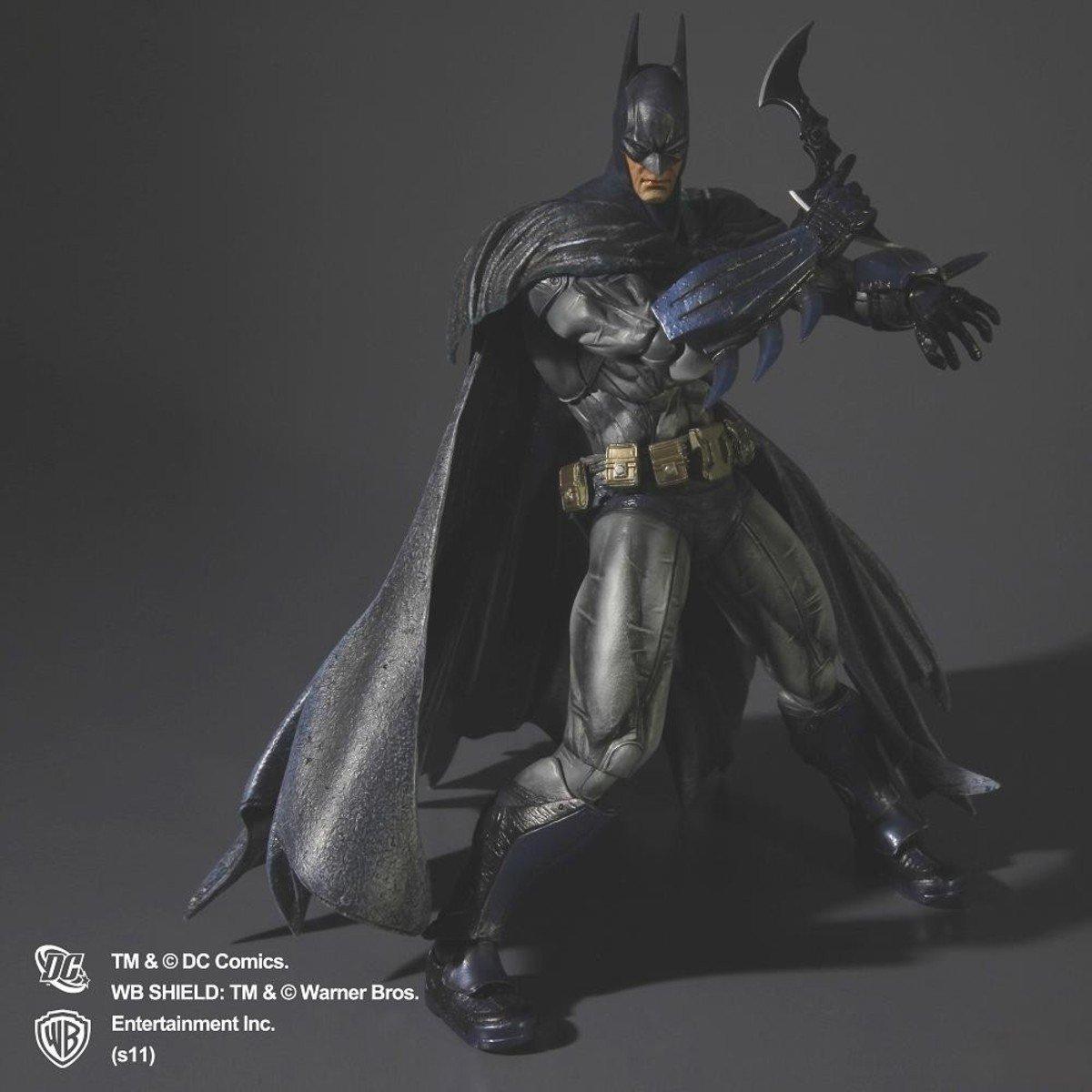 Play Arts Kai 系列 蝙蝠俠:阿卡漢瘋人院 -  裝甲版 蝙蝠俠