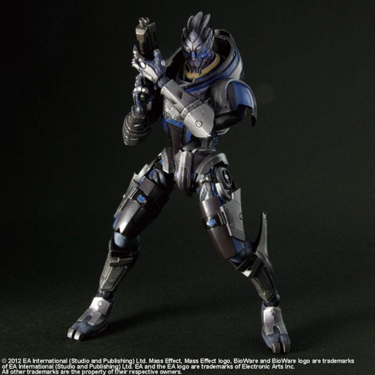 Play Arts改 系列  Mass Effect 3 蓋拉斯