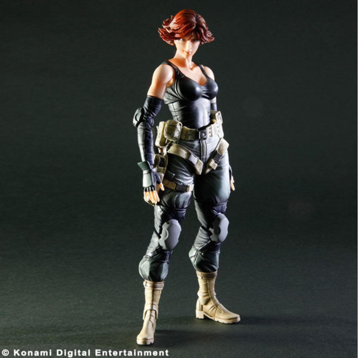 Play Arts改  Metal Gear Solid 潛龍諜影 梅麗爾 25週年紀念版
