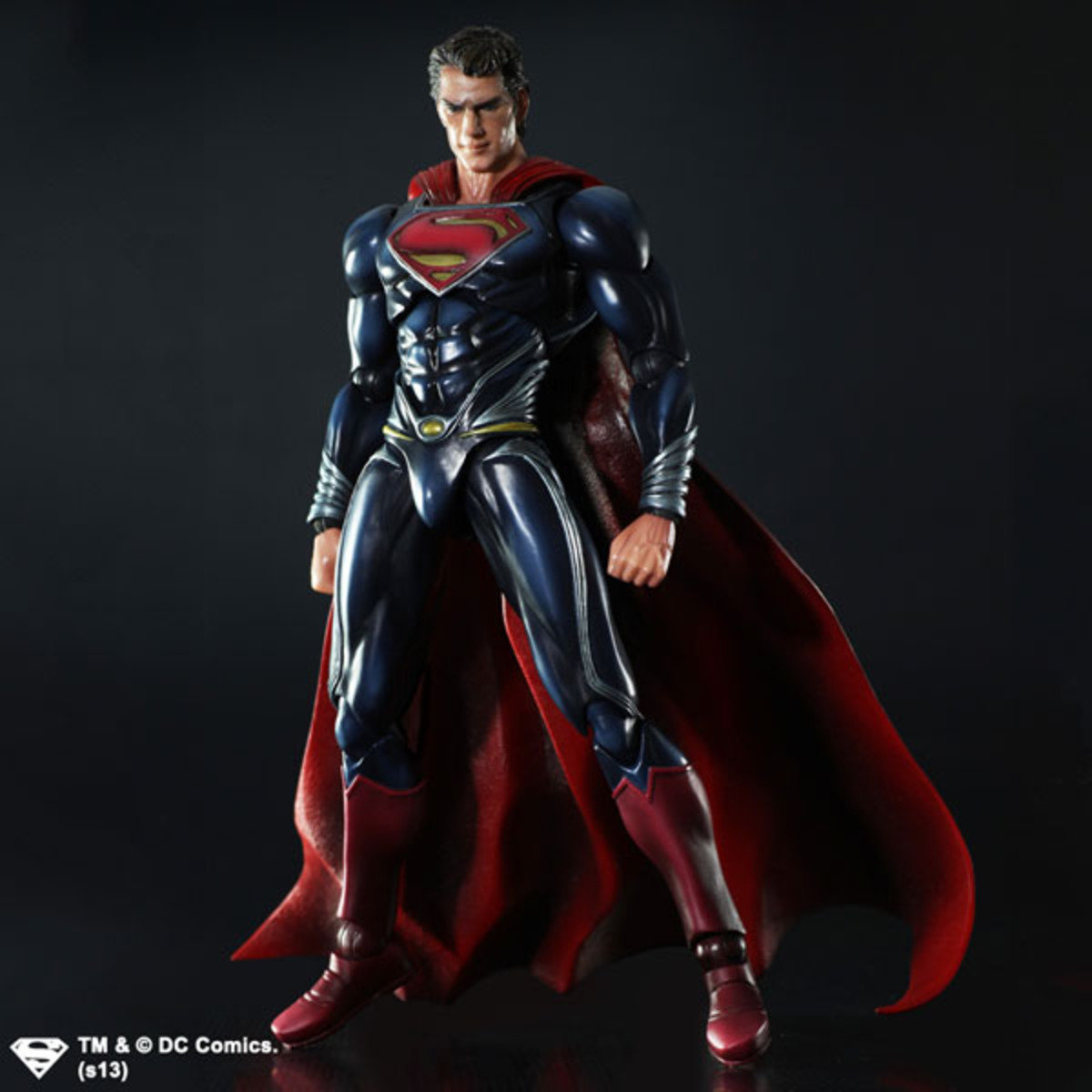 Play Arts改系列  超人:鋼鐵英雄