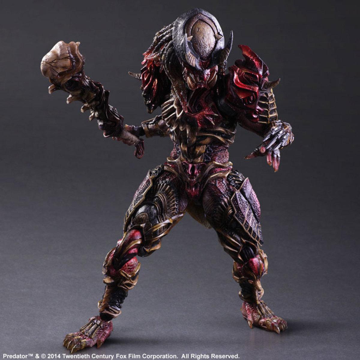 Play Arts改系列 變體版 Predator 鐵血戰士  (Designed by Hitoshi Kondo)