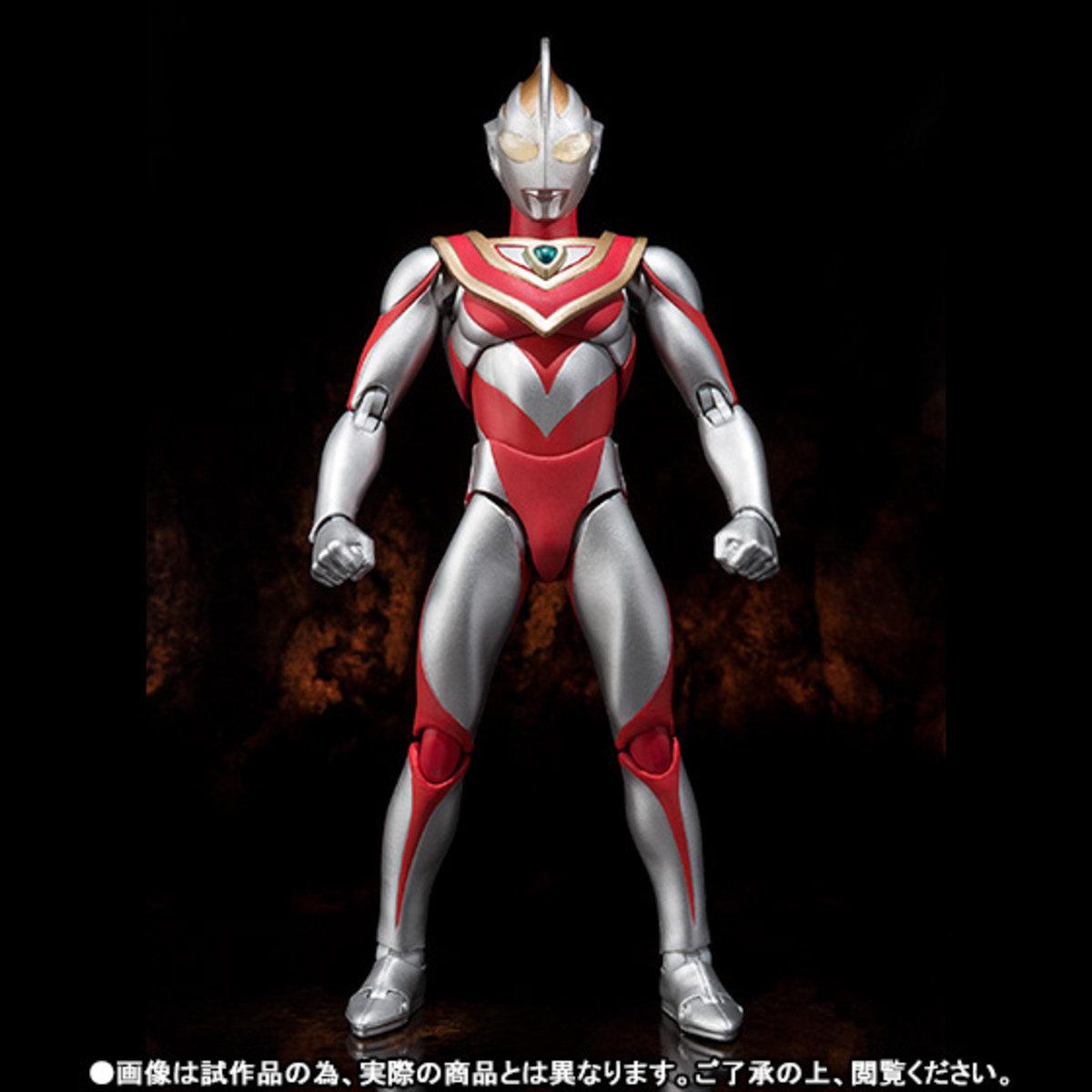 Ultra-Act 超人系列 超人佳亞 & XIG戰鬥機組 (魂商店限定)