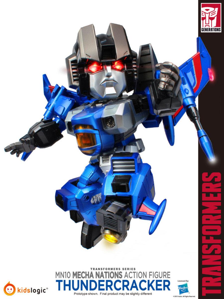 Transformers 變形金剛 Mecha Nations MN-010 雷公(2015 Toy Soul 限定)