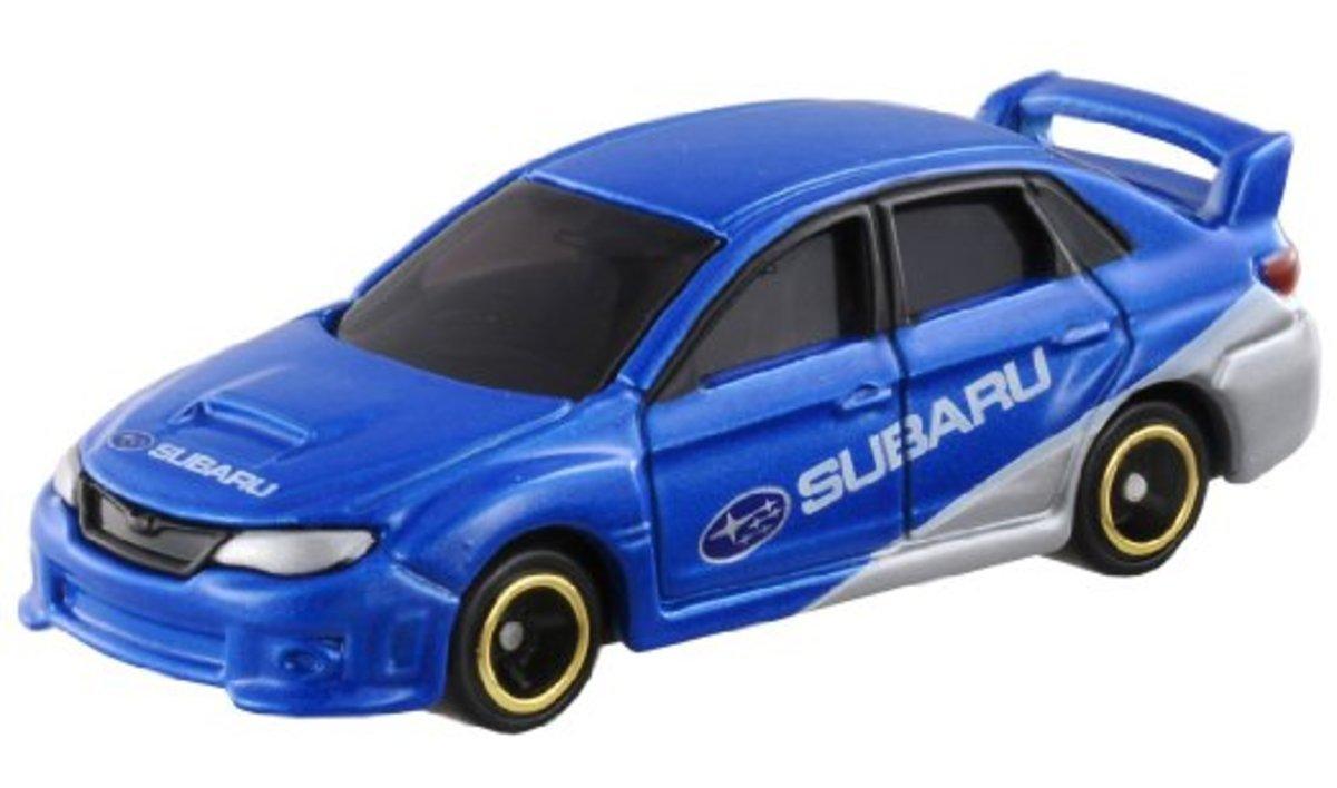 Dream Tomica 小汽車No.007 Subaru Impreza  R4
