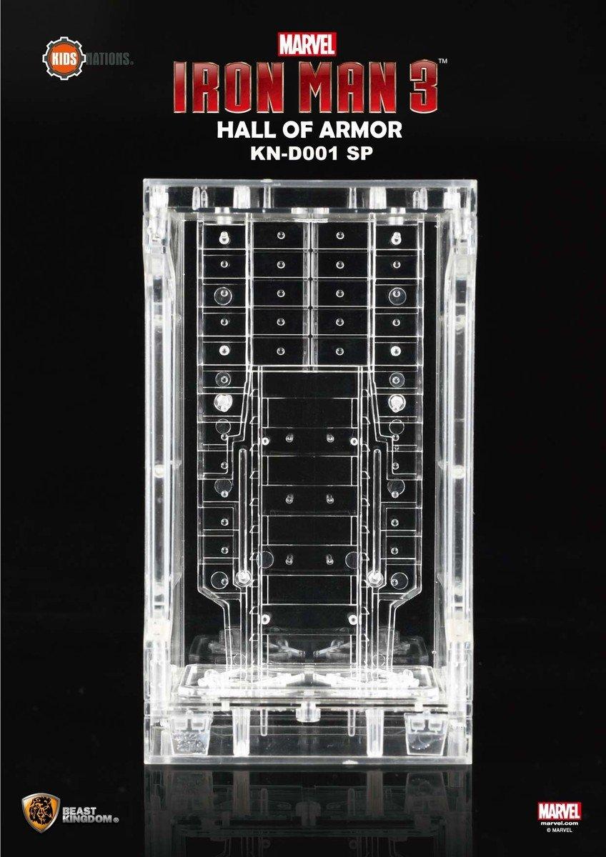 KN-D001SP 鋼鐵人3-裝甲格納庫透明版