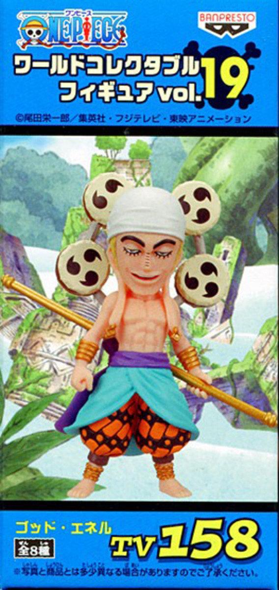 One Piece 海賊王 景品WCF  TV系列 Vol 19  - 艾涅爾