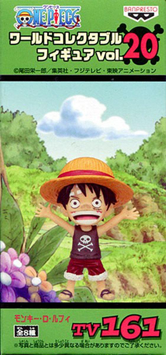 One Piece 海賊王 景品WCF  TV系列 Vol 20 - Luffy