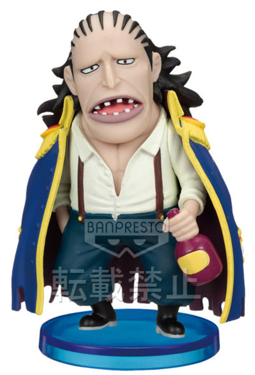 One Piece 海賊王 景品WCF  TV系列 Vol 20 - Curly Dadan