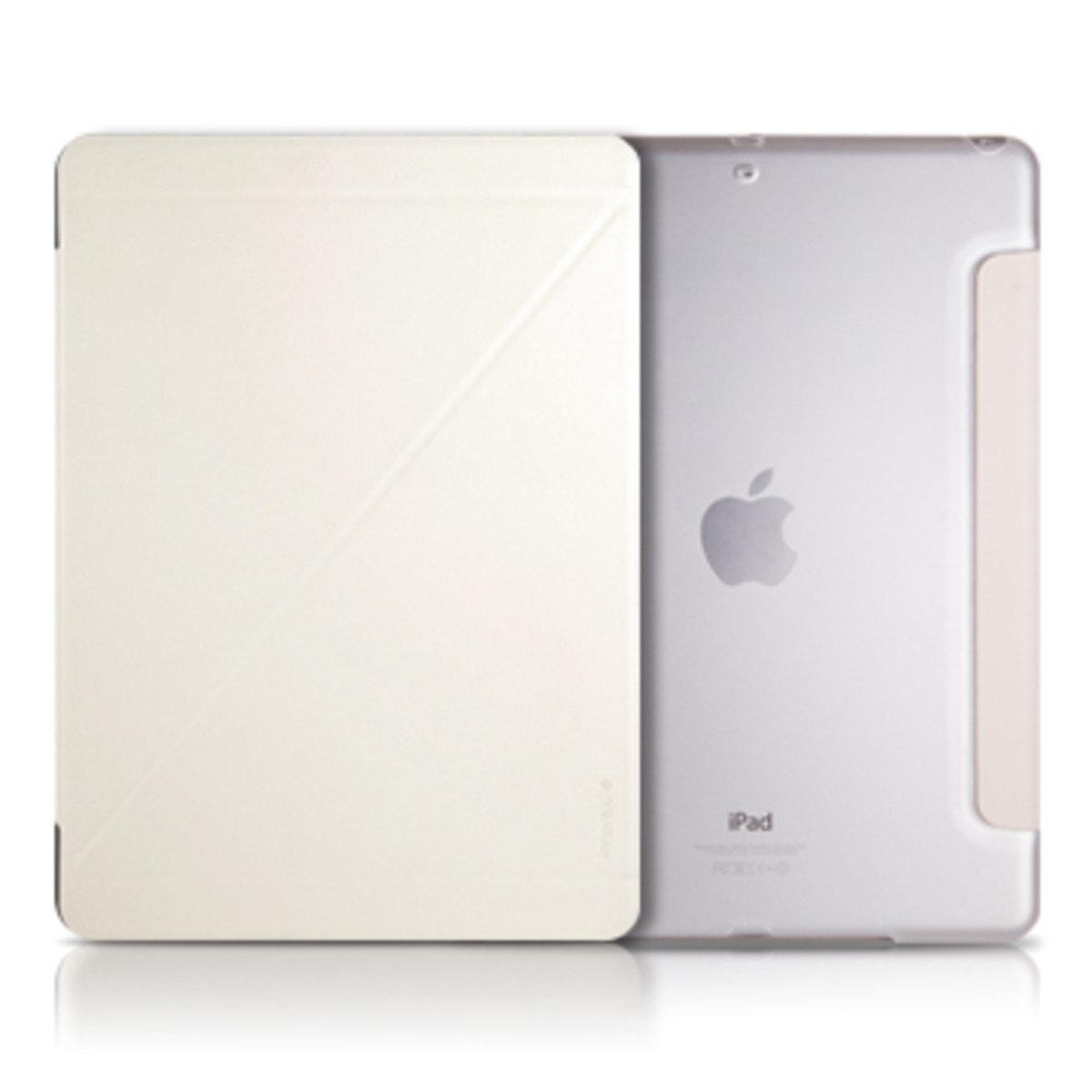 Innerexile iPad mini Z 字型直立式平板保護套(白)