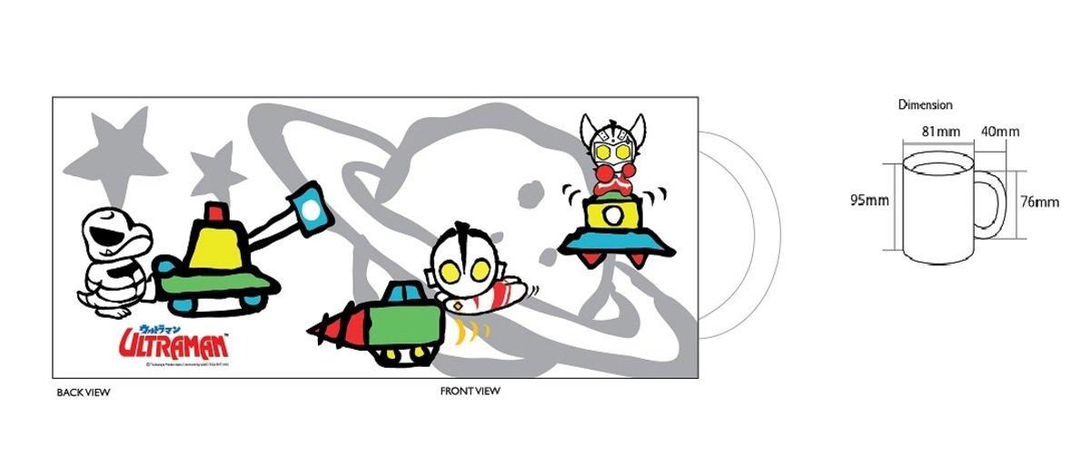 馬克杯 - Q版咸蛋超人與太空船