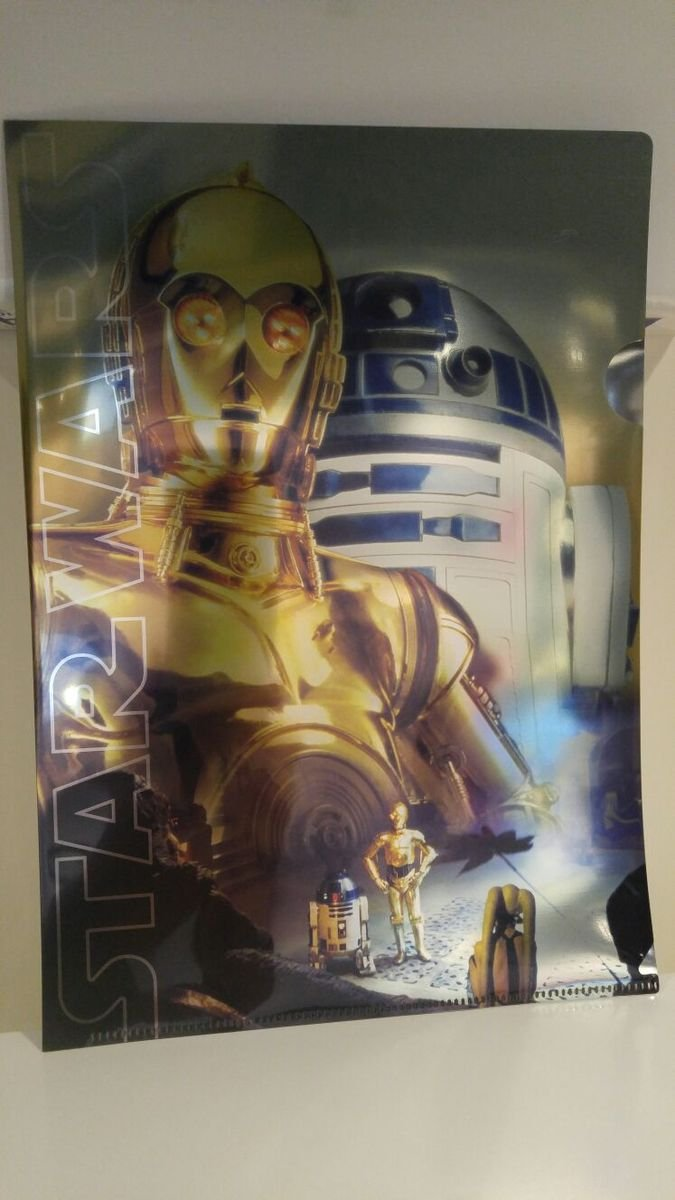 A4膠文件夾 - C-3PO & R2-D2