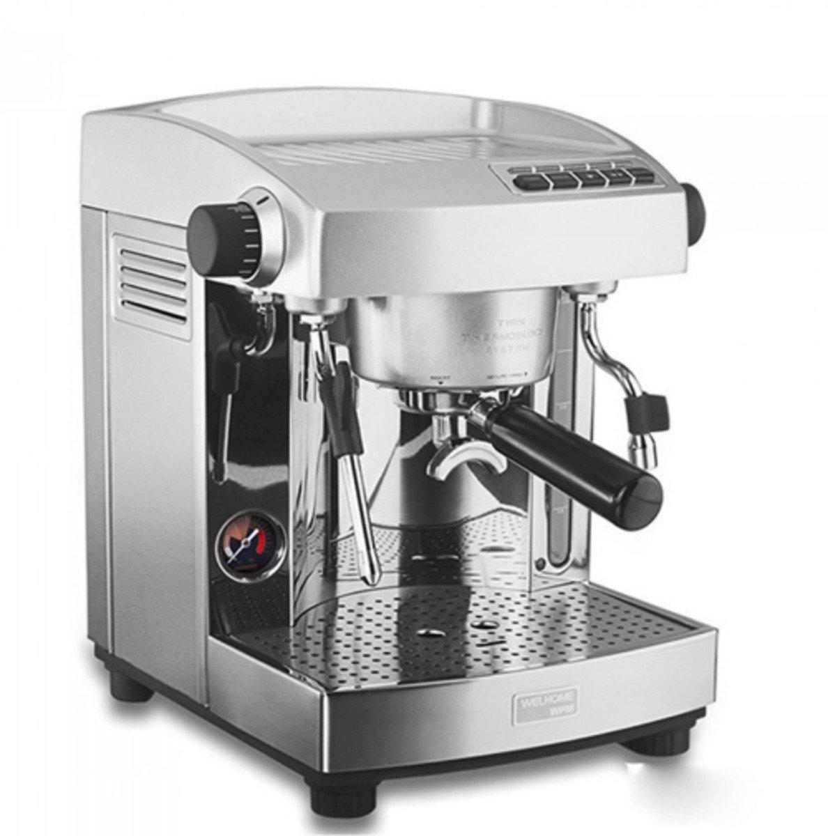 KD-210S2 意式半自動咖啡機(單沖煮頭)送WPM - ZD-10T 咖啡磨豆機