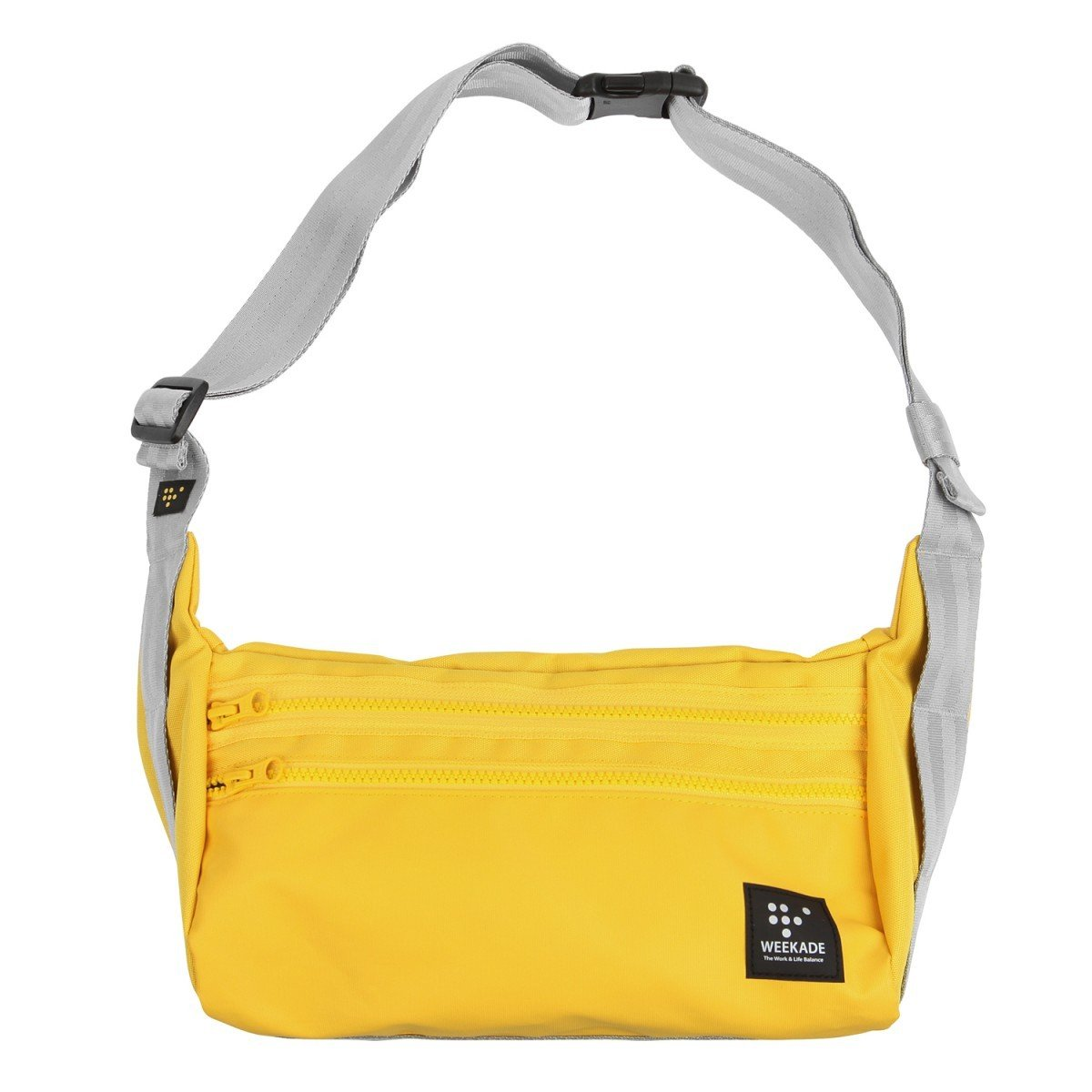 WEEKADE LET'S MAIL BAG - 輕便斜揹袋 - Yellow