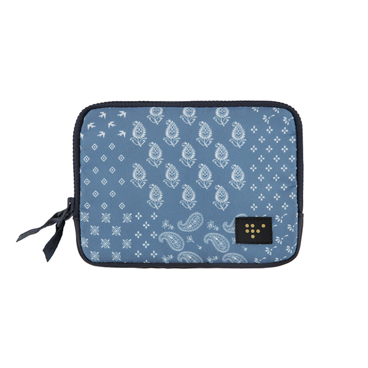 WEEKADE FAMILY PASSPORT POUCH 護照機票收納袋 - Blue Paisley