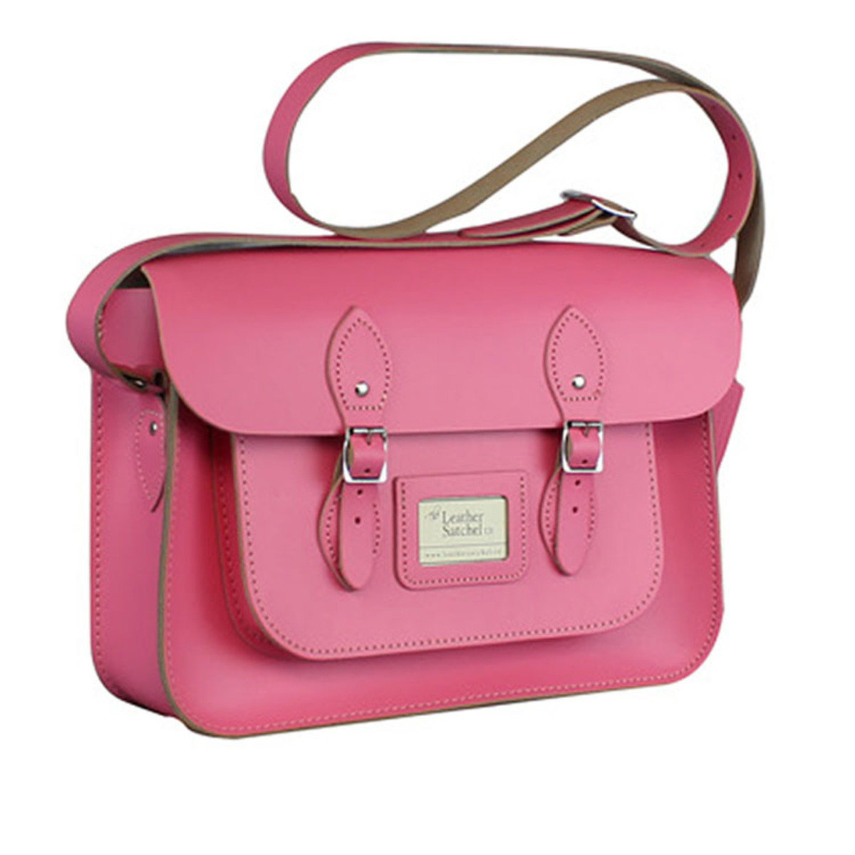 """14"""" Satchel – Baby Pink"""