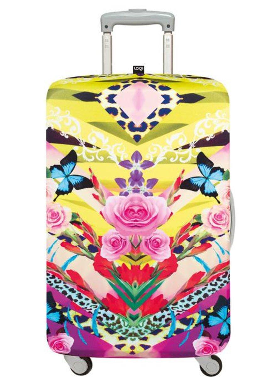 27ed0fefa820 LOQI | Luggage Cover (M) – Shinpei Natito Flower Dream | Color ...