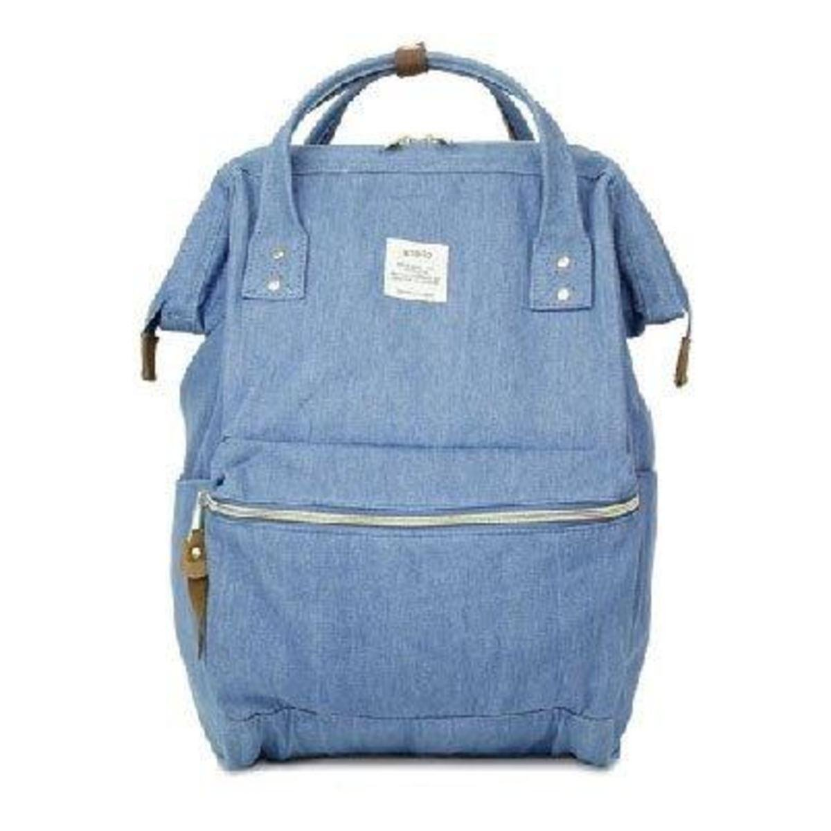 大背包 ATB0931A-淺色牛仔布