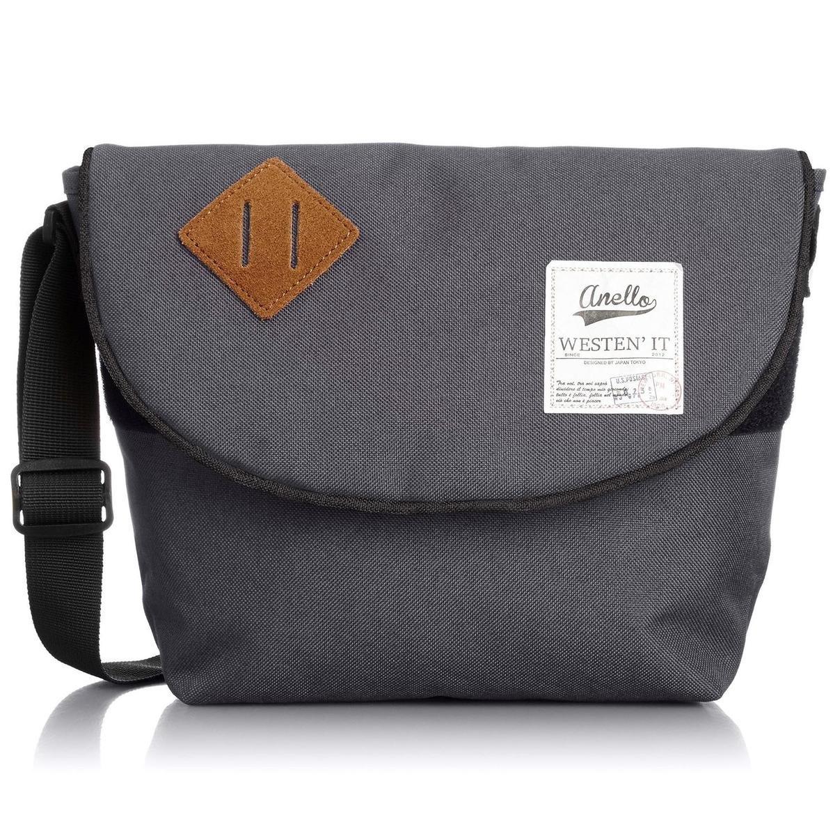 肩揹斜孭袋 AUA0131-灰色