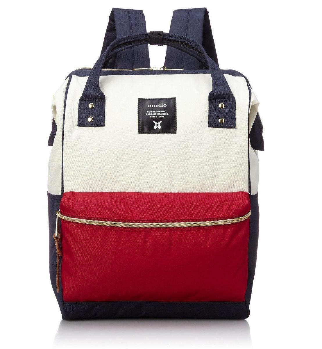 大背包 ATB0193A-白藍紅拼色