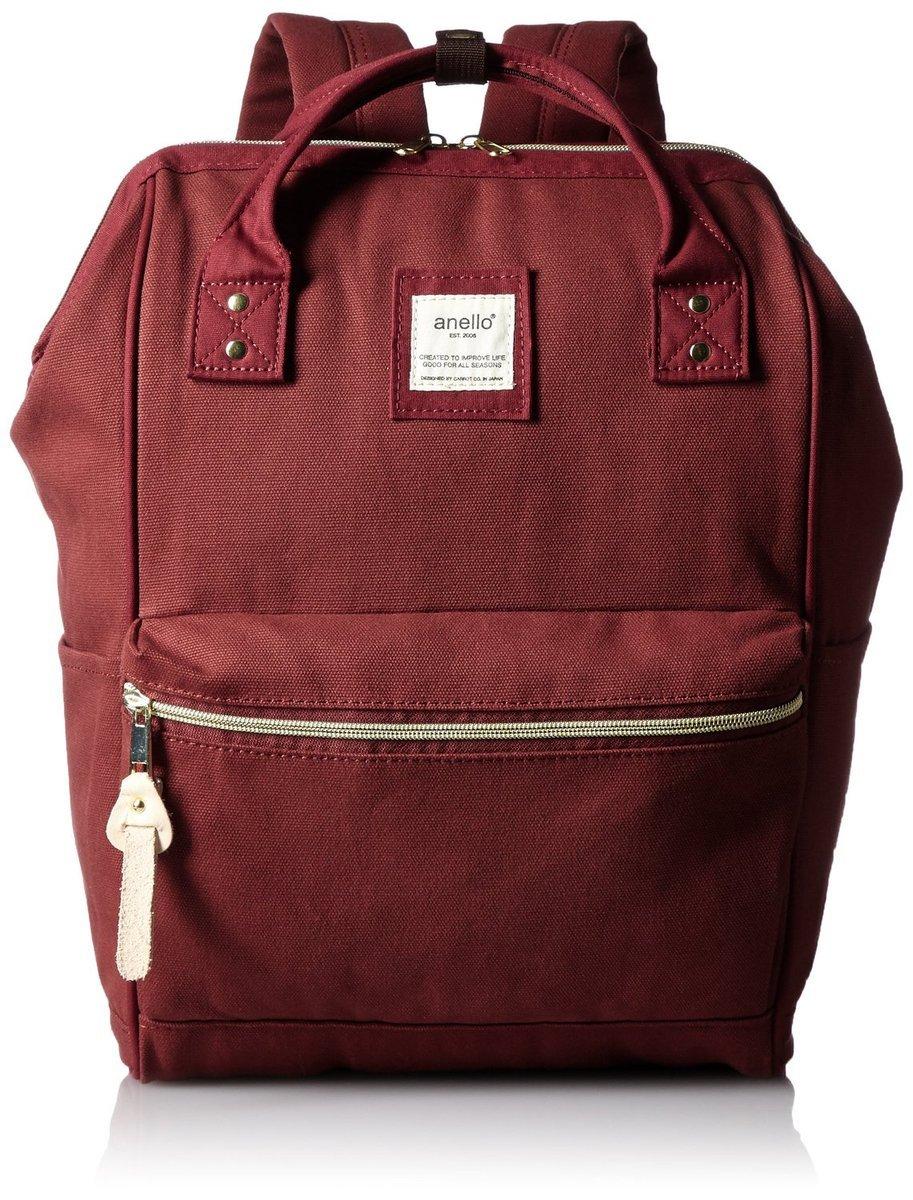 帆布大背包 AT-B0481A-WI-酒紅色