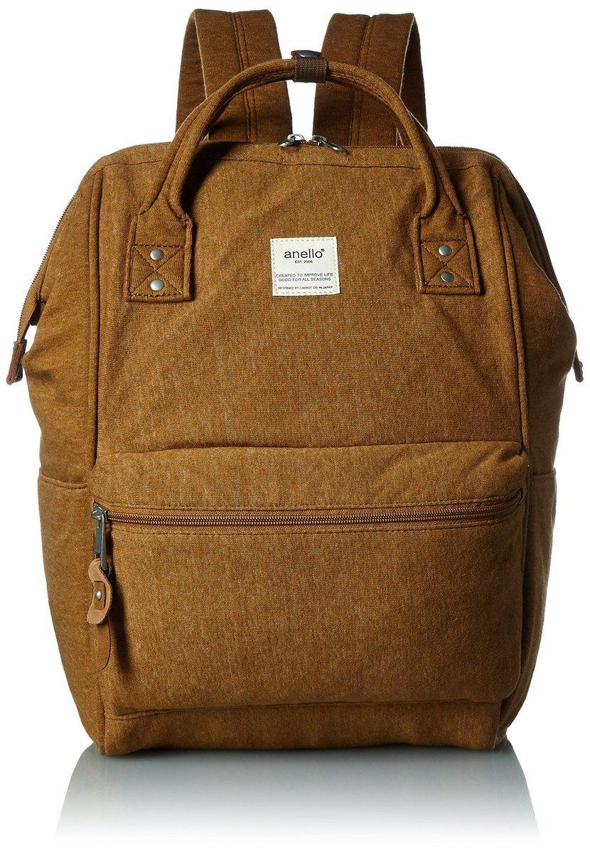 布質大背包 AT-B0911A-MUS-芥末黃色