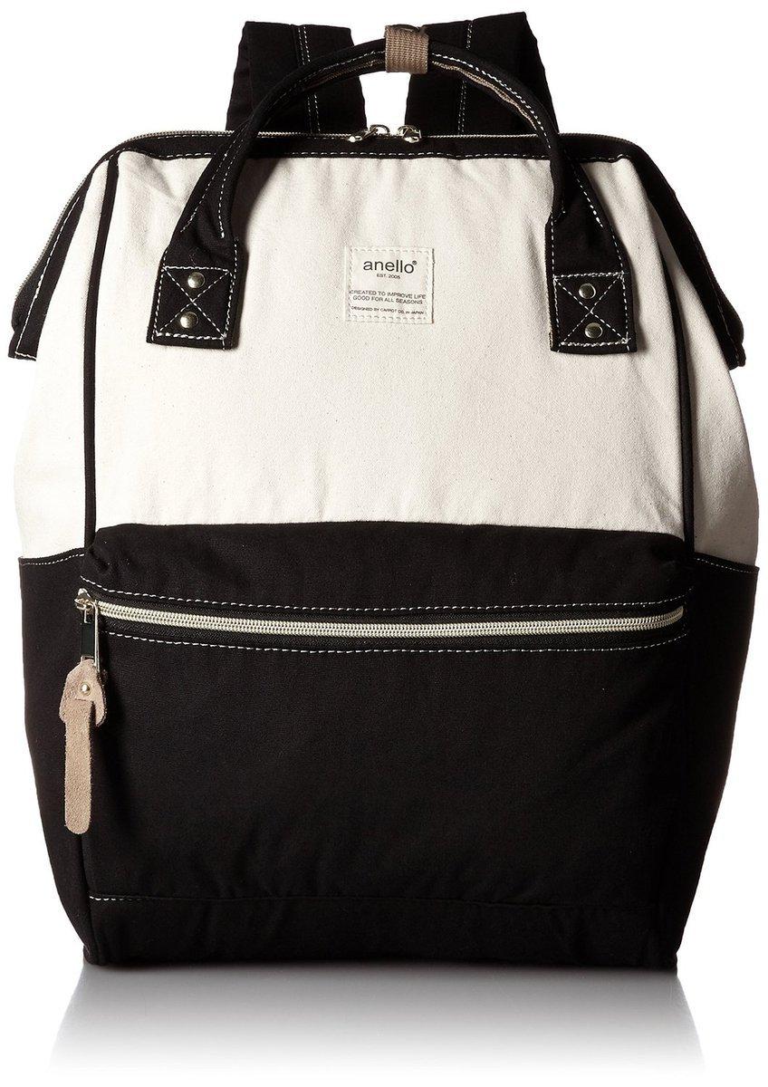 拼色系大背包 AT-B0931A-CBK-黑白色