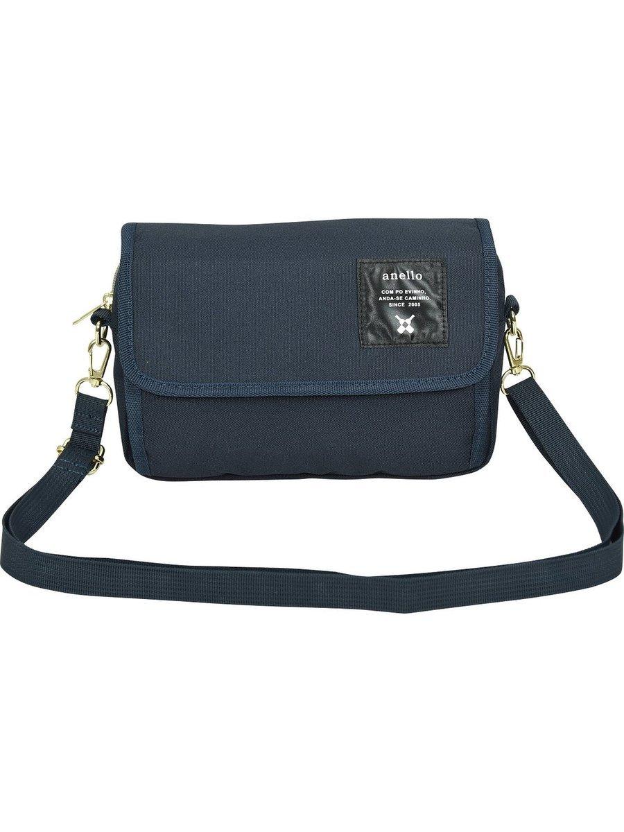 肩揹/銀包兩用小袋 ATH0431-BK-藍色