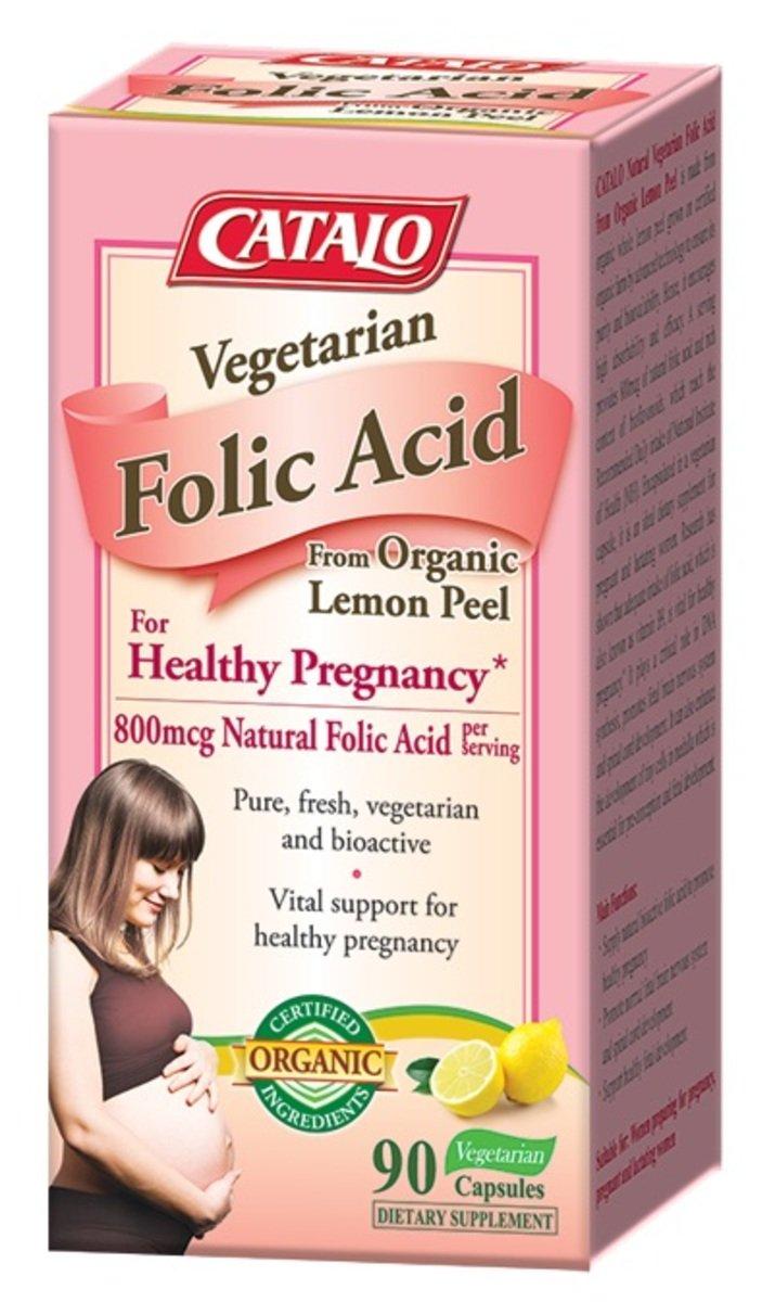 天然葉酸配方(有機檸檬皮精華孕婦營養補充食品) 90粒