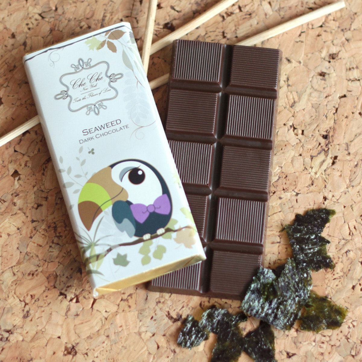 排裝巧克力 - 紫菜