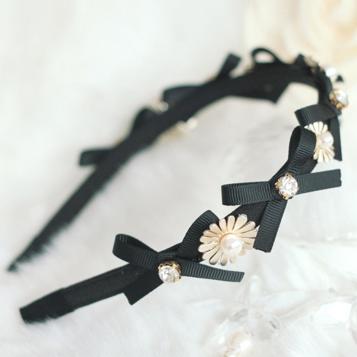 高雅太陽花飾頭箍
