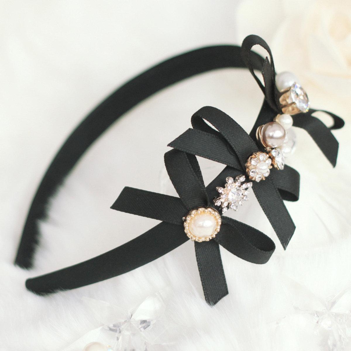 秀麗珍珠頭箍