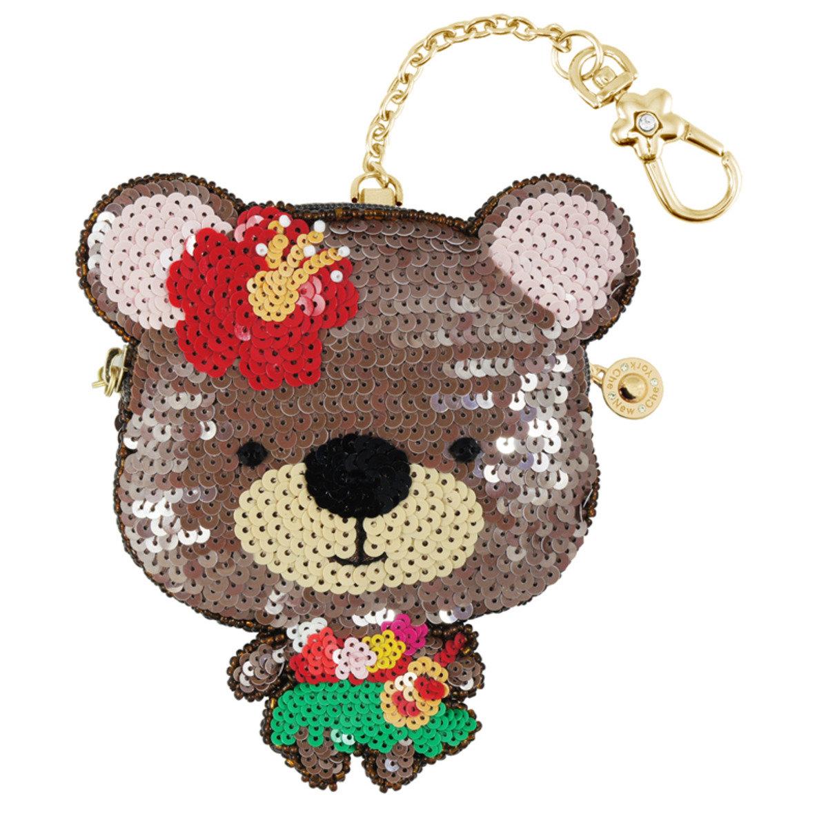 夏威夷小熊零錢包
