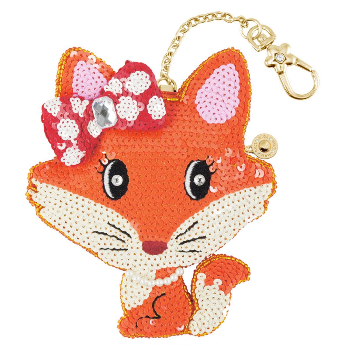 迷人狐狸小姐零錢包